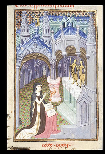 1410-c L'Epitre Othea Christine de Pisan British Library Harley 4431 f. 110v