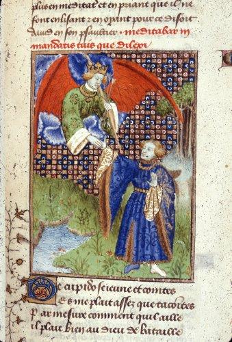 1410-c. 1414 Epitre Othea Harley 4431 f.117 Cupidon British Library