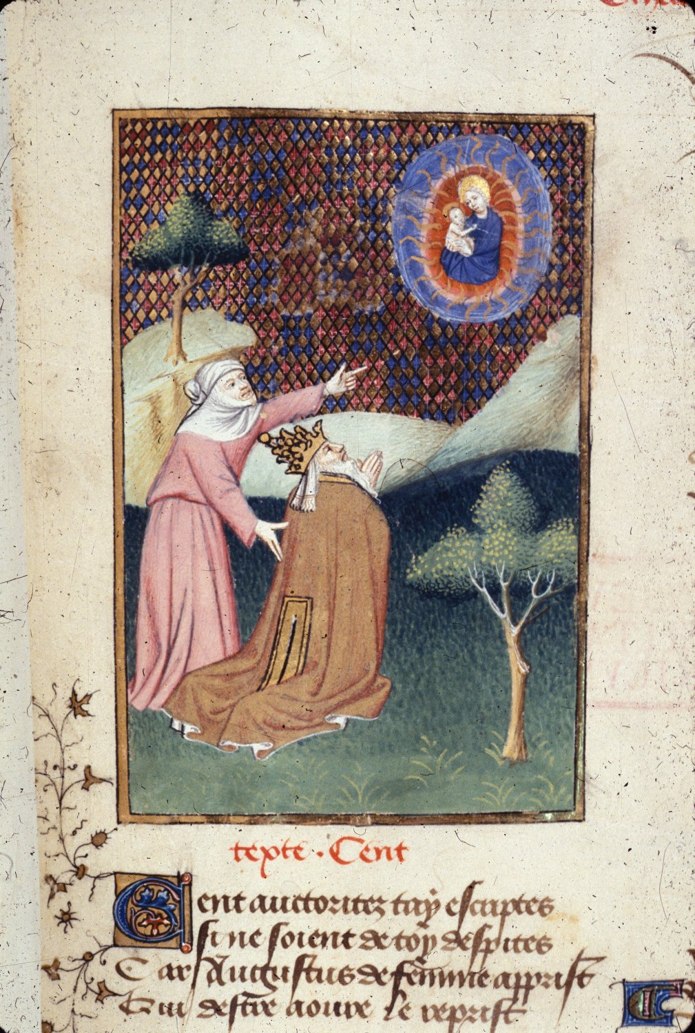 1410-c. 1414 Tiburtine L'Epitre Othea Christine de Pisan British Library Harley 4431 f. 141