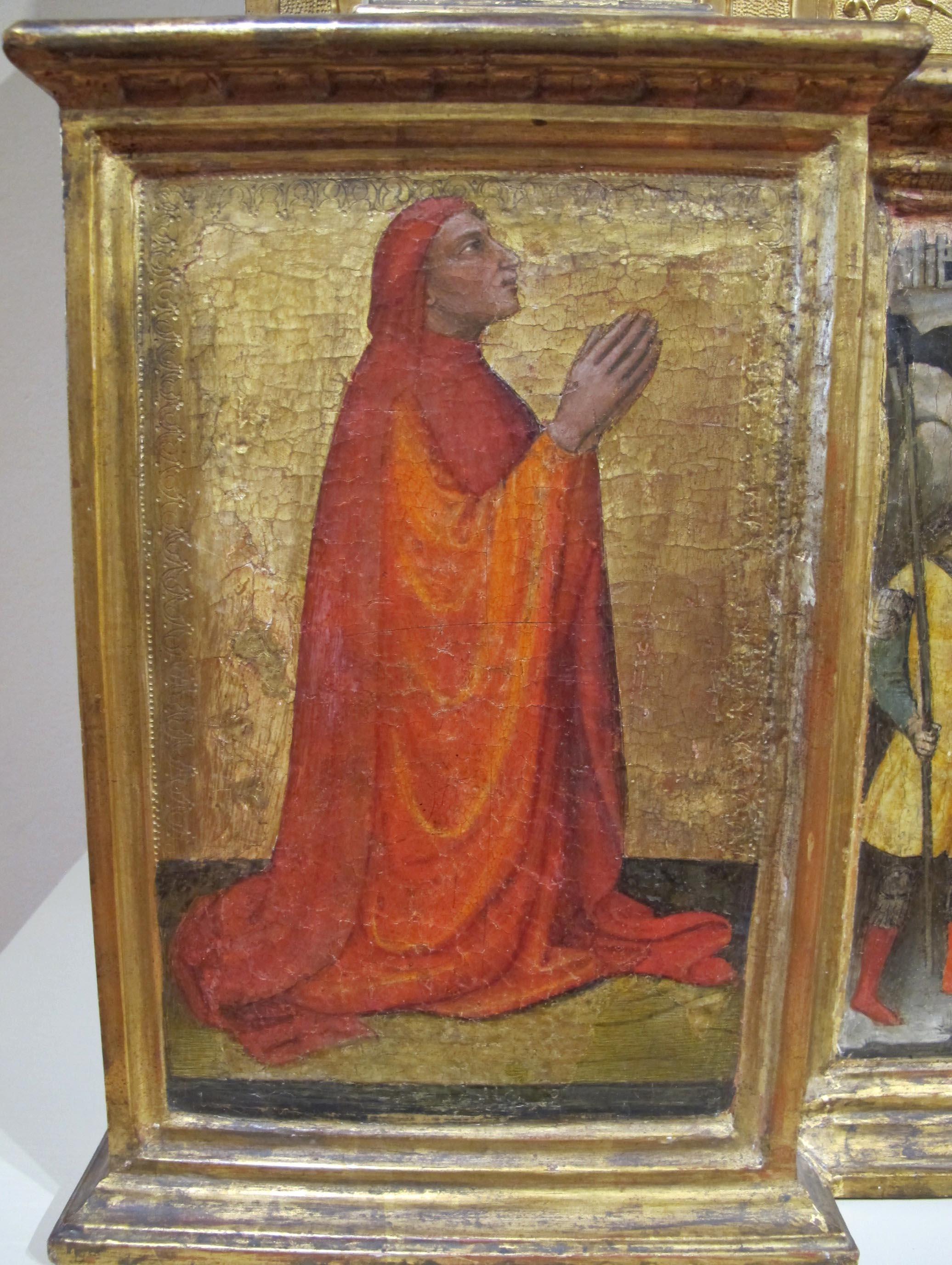 1424 Mariotto_di_nardo,_polittico_serristori SS Nazarro et Celso Verona gauche