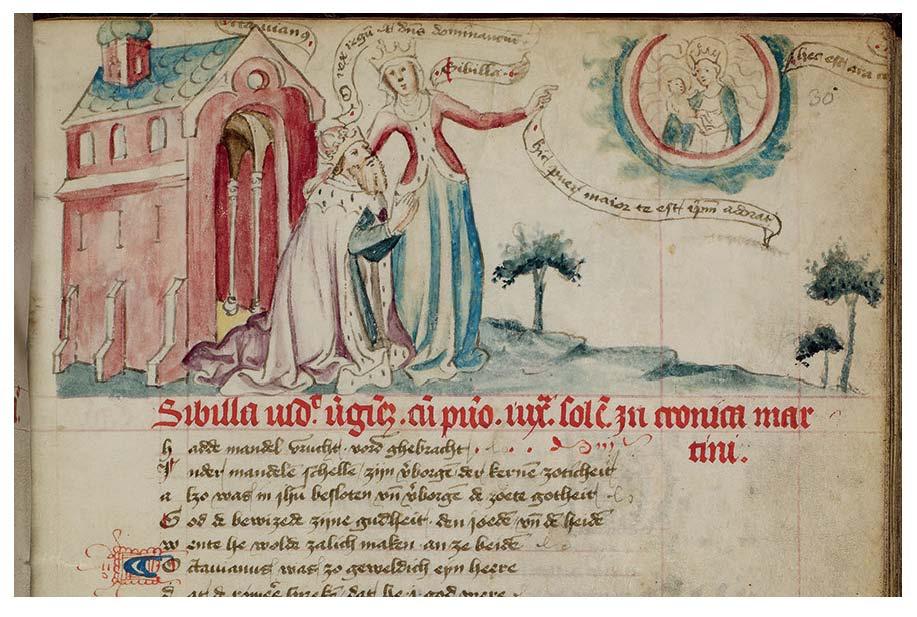 1430 Speculum Humanae Salvationis Ms. GKS 79 2°, f. 30r Biblioteca reale di Copenhagen