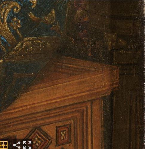 1435 Eyck_madonna_rolin rat
