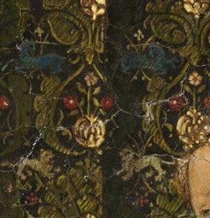 1437 Jan_van_Eyck Triptyque de Dresde licorne lion