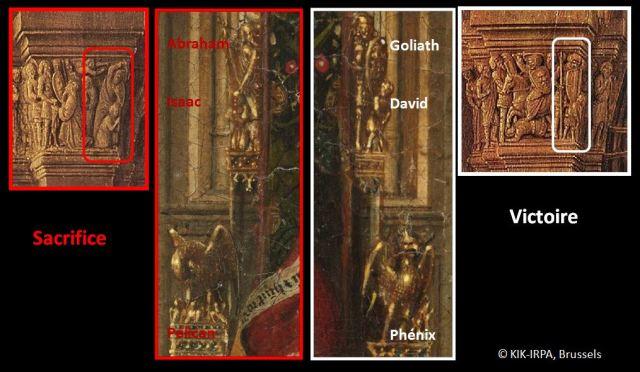 1437 Jan_van_Eyck Triptyque de Dresde schema 1