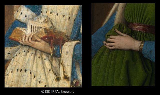 1437 Jan_van_Eyck_-_Triptyque de Dreste arnolfini