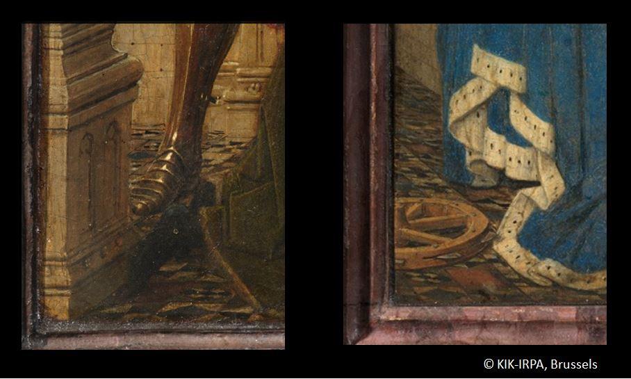 1437 Jan_van_Eyck_-_Triptyque de Dreste bas des volets