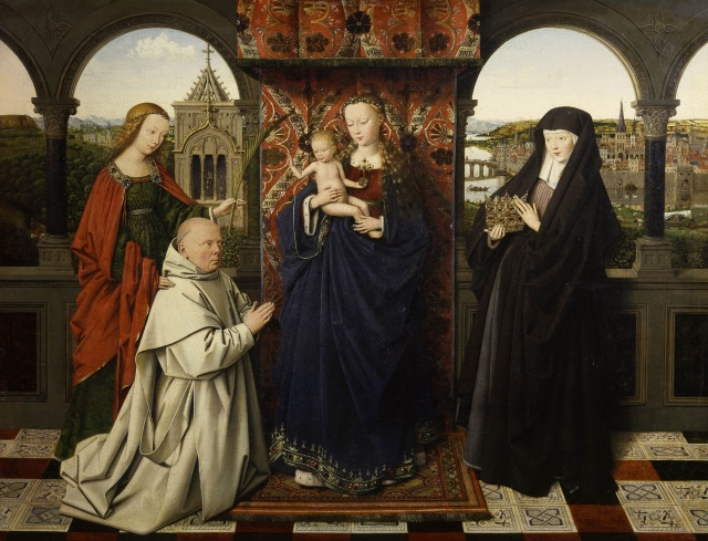1441 Jan_van_Eyck_Madonna of Jan Vos _Frick_Collection
