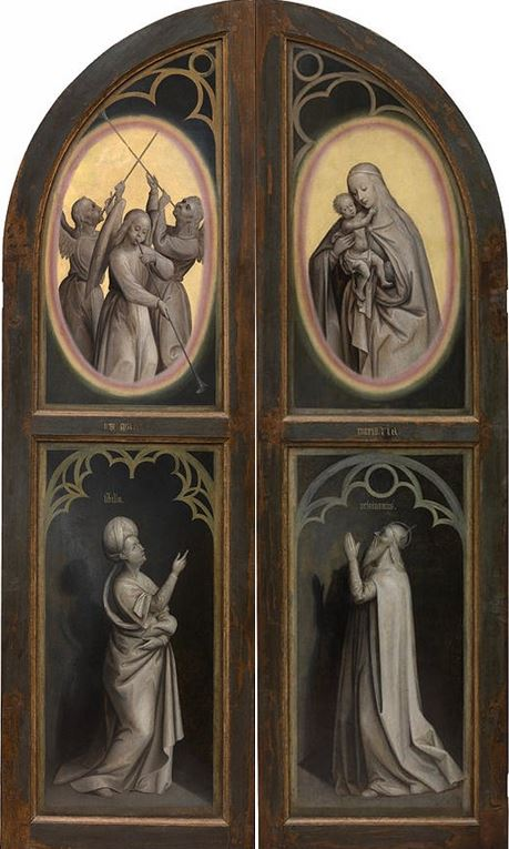 1445 Maelbeke_Madonna_Triptych_After_van_Eyck revers