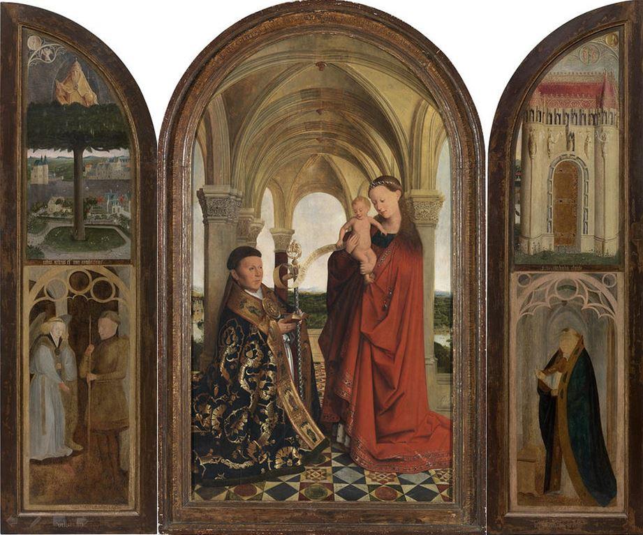 1445 Maelbeke_Madonna_Triptych_After_van_Eyck