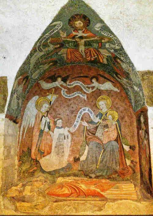 1447 Enfeu de Gervais de Larchamp Crypte de la Cathedrale de Bayeux