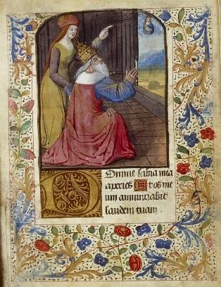 1450-99 Heures à l'usage d'Amiens Lyon, Bibl. mun., ms. 1790, f. 050v-051