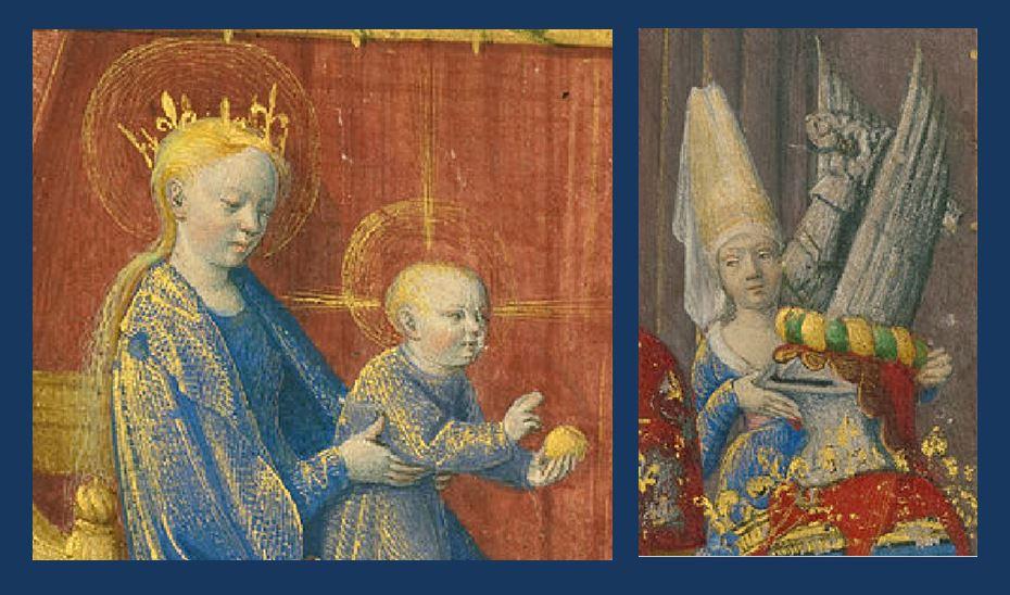 1455 Jean_Fouquet_Heures de Simon de Varye, Getty Museum detail heaume