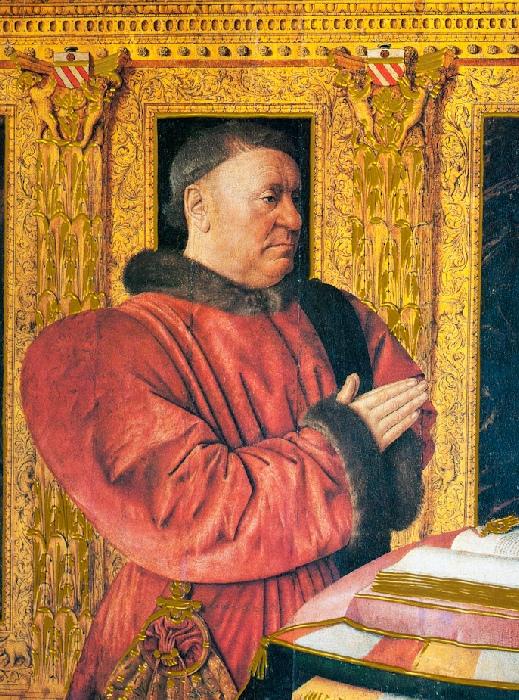 1460-65 Fouquet Guillaume Jouvenel des Ursins Louvre Paris