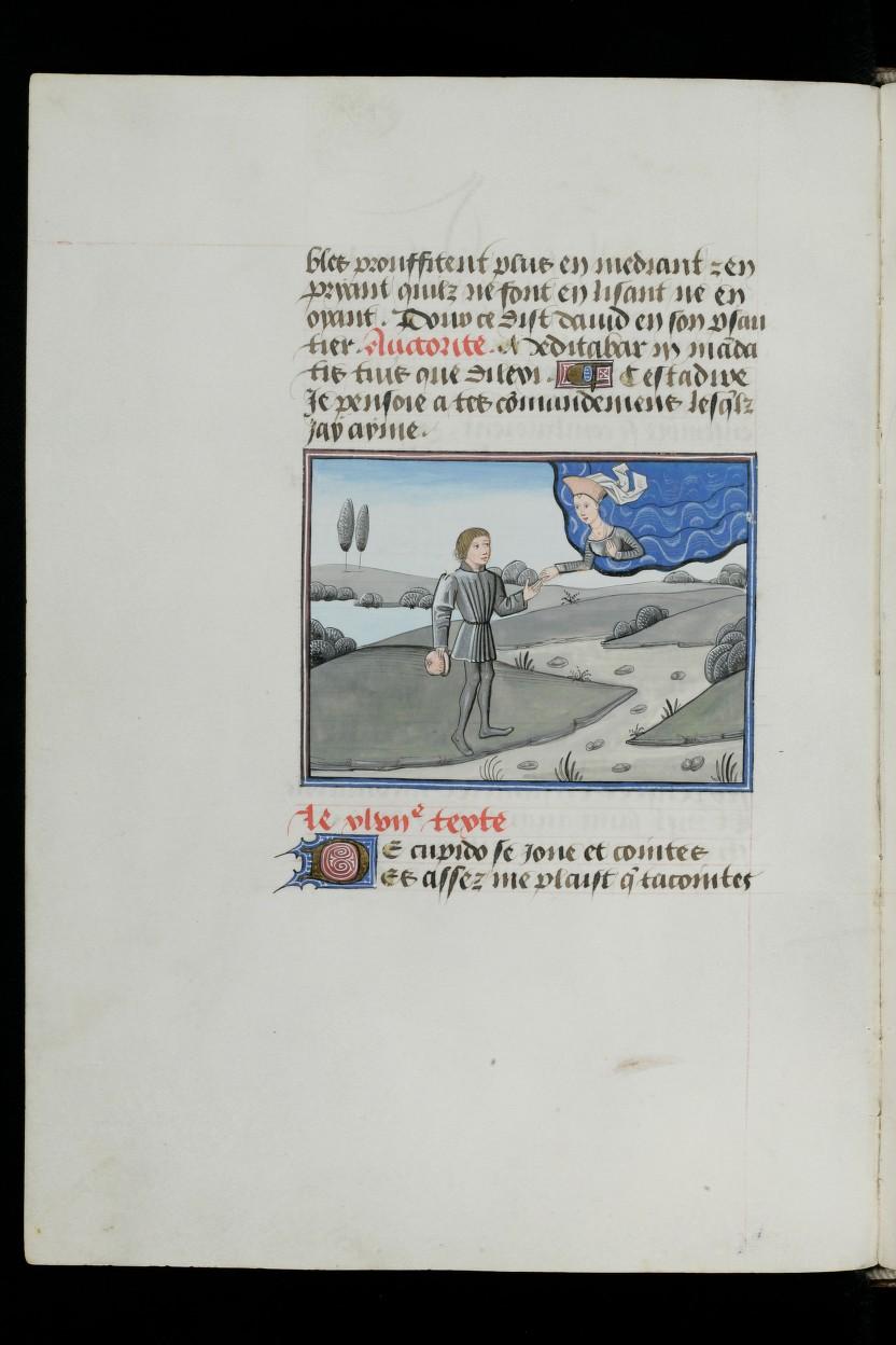 1460 ca L'Epitre Othea Christine de Pisan Cologny, Fondation Martin Bodmer, Cod. Bodmer 49, f. 72v