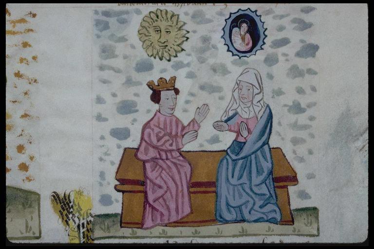 1462 Speculum Humanae Salvationis Bibliotheque municipale de Lyon ms 245 f128,