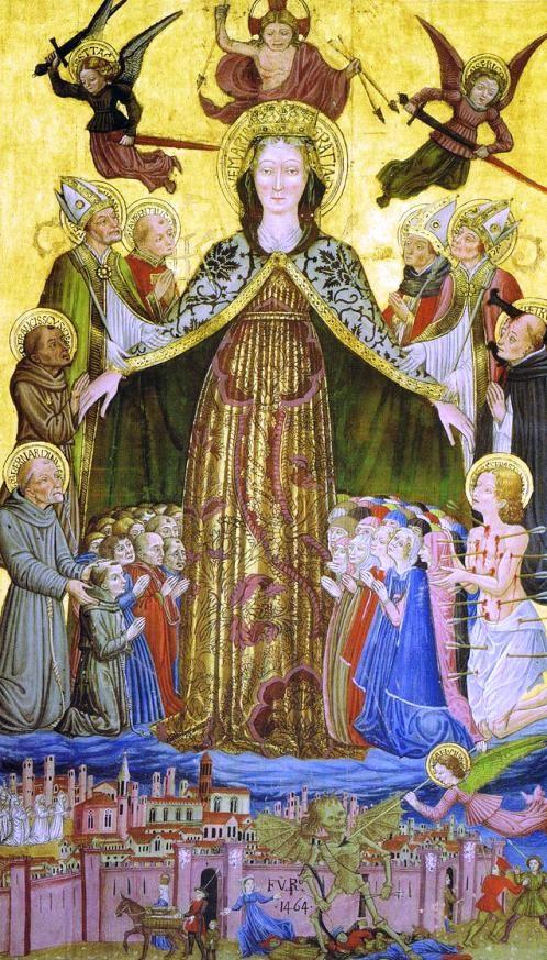 1464 Benedetto Bonfigli - Gonfalone di San Francesco al Prato Oratorio di San Bernardino, Perugia