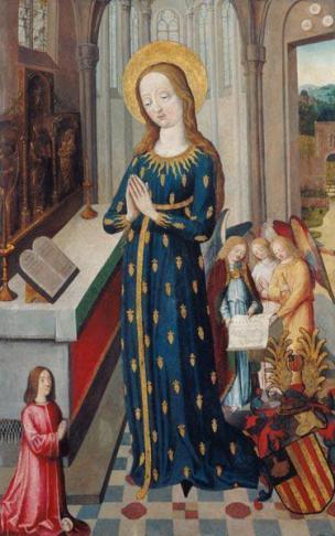 1470 –1480 Maria_im_Ahrenkleid Museum der Brotkultur Ulm
