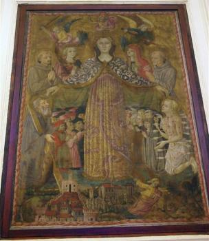 1470-1480 cercle de Benedetto Bonfigli, Gonfanon, eglise Sant'Andrea e Biagio, Civitella Benazzone.