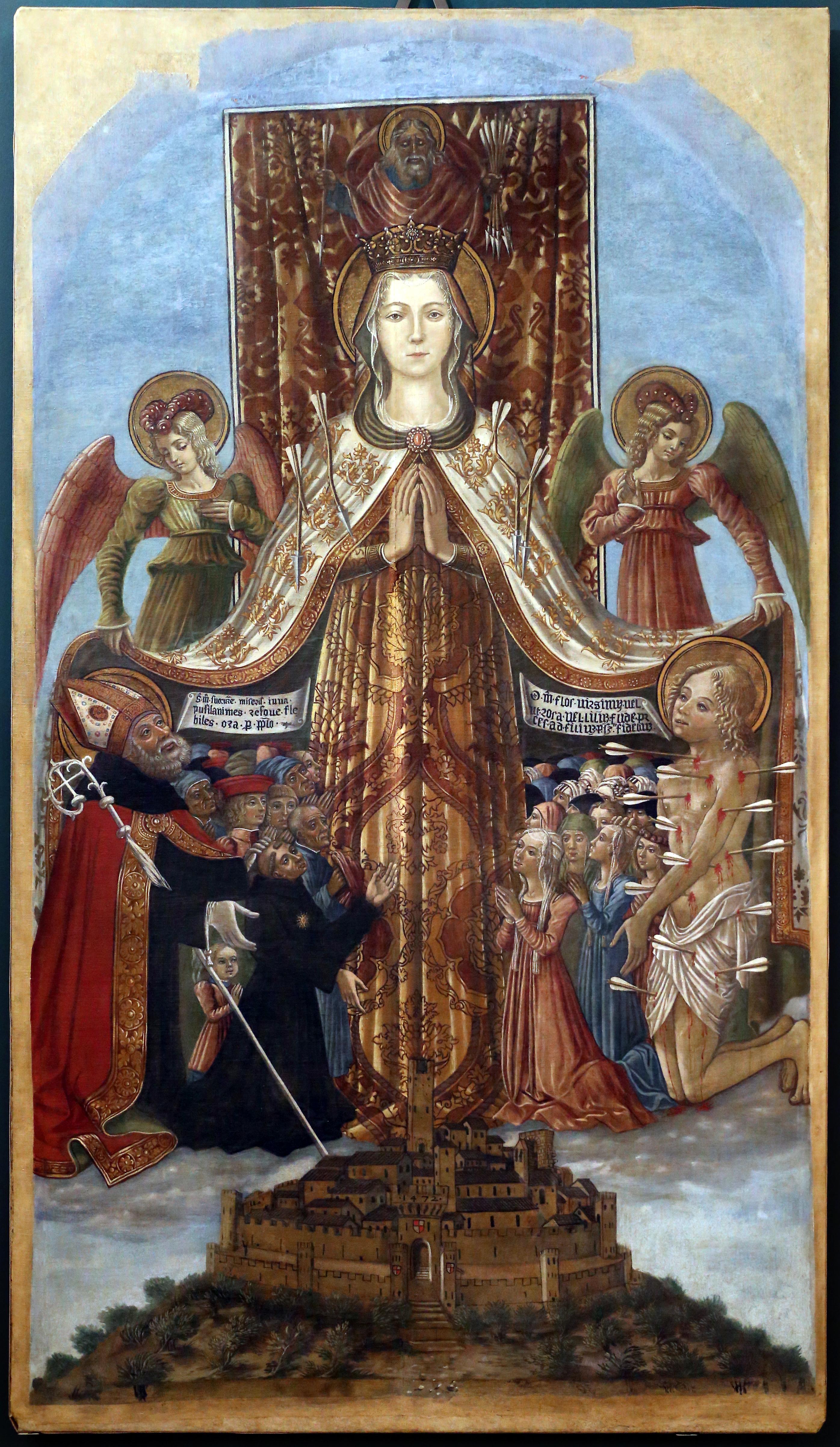 1472 Benedetto-Bonfigli-Gonfalone-di-Corciano-