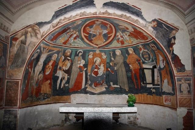 1480-1505 Daniele De Bosis Oratoire della Madonna del Latte, Gionzana