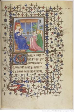 1480-1520 Horae_ad_usum_Parisiensem__BNF MS LAT 1161 fol 290r ressemble a Rollin