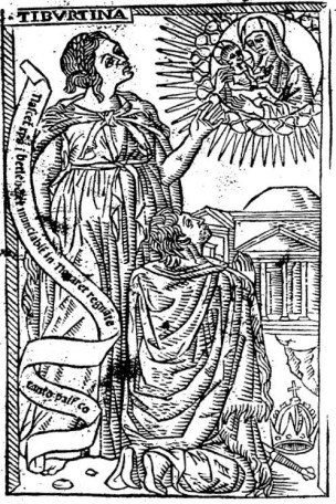 1481 La Sibylle de Tibur dans le Discordantiae de Barbieri. Gallica