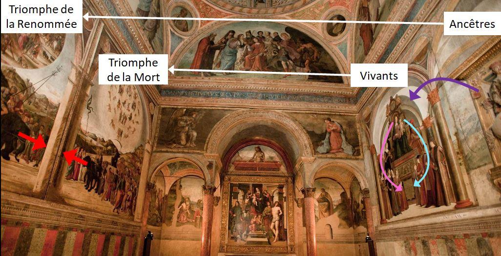 1488 Lorenzo_Costa_Bentivogilo chapel San Giacomo Maggiore (Bologna) ensemble