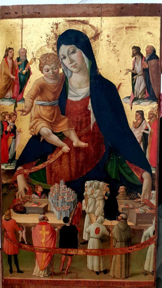 1491 ca Lorenzo d'Alessandro Madonna del Monte Eglise de Caldarola