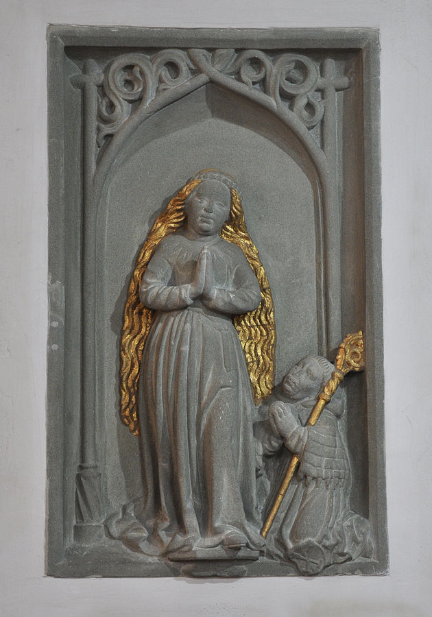 1495–1523 Vierge avec l'abbe Johann Maiger, Kirche Mariatal bei Weissenau Ravensburg