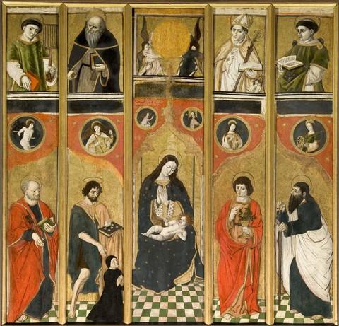 1496_Hans_Clemer_-_parrocchiale_di_Celle_Macra commnde par cure Giovanni Forneri di Piasco