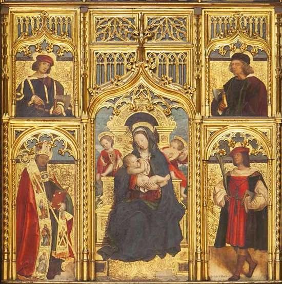 1498 Martino Spanzotti et Defendente Ferrari, Polittico dei Calzolai, Cathedrale,Turin