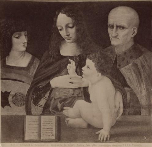 1500-49 Madonna con Bambino benedicente tra un angelo e il donatore Pinacoteca Manfrediniana, Venezia
