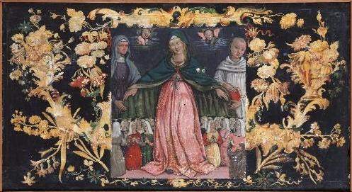 1510 mariano di ser austerio Vierge au manteau Compagnia di Nostra Donna di Sant'Antonio a Porta Sole Galleria Nazionale Perouse