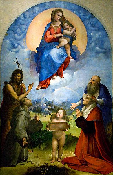 1511-12 Raphael Madonna Di Foligno Musee Vatican