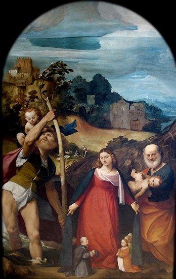 1514-15 Pordenone pala-della-misericordia_Eglise de Pordenone