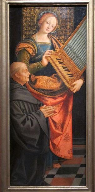 1515-25 Girolamo_giovenone Ste Cecilia Musee Pouchkine