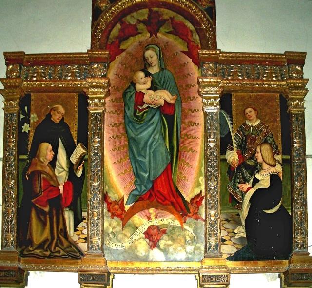 1516 Girolamo_giovenone Dominique Laurent Trittico Raspa Trino Vercelli