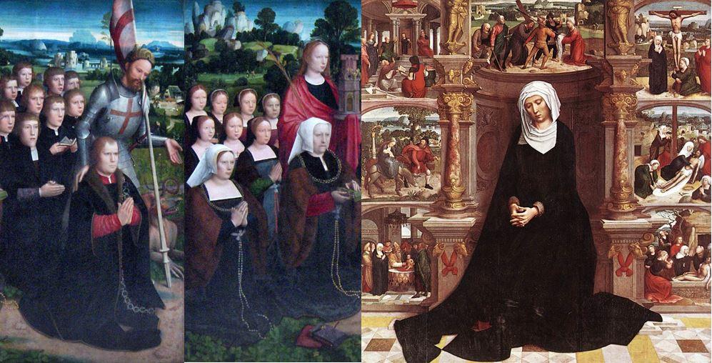 1521 Adrien Isenbrant diptyque de la Vierge des Sept Douleurs volet g Musees royaux des Beaux-Arts de Belgique autre solution