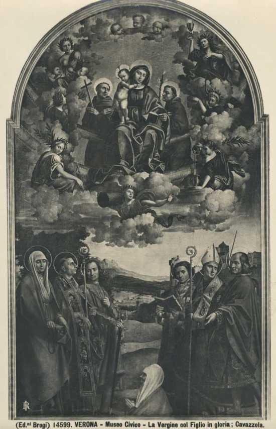 1522 paolo-morando-Pala Sacco st-antoine-et-st-francois Musee Castelvecchio verona