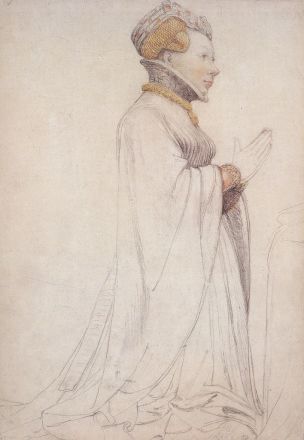 1523-24 Holbein Jeanne de Bourgogne Musee des BA Bale