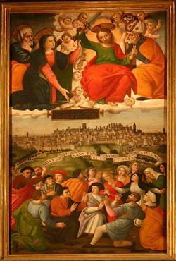 1526 gonfalone-berto-di-giovanni cattedrale di San Lorenzo Pérouse