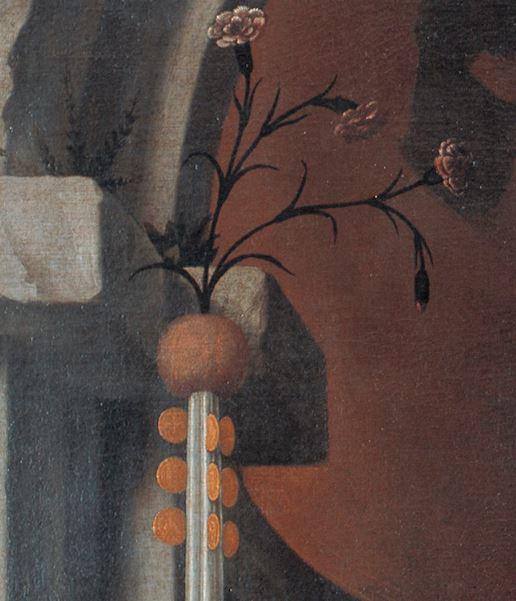 1539 Moretto,_pala_rovelli Pinacoteca Tosio Martinengo di Brescia detail