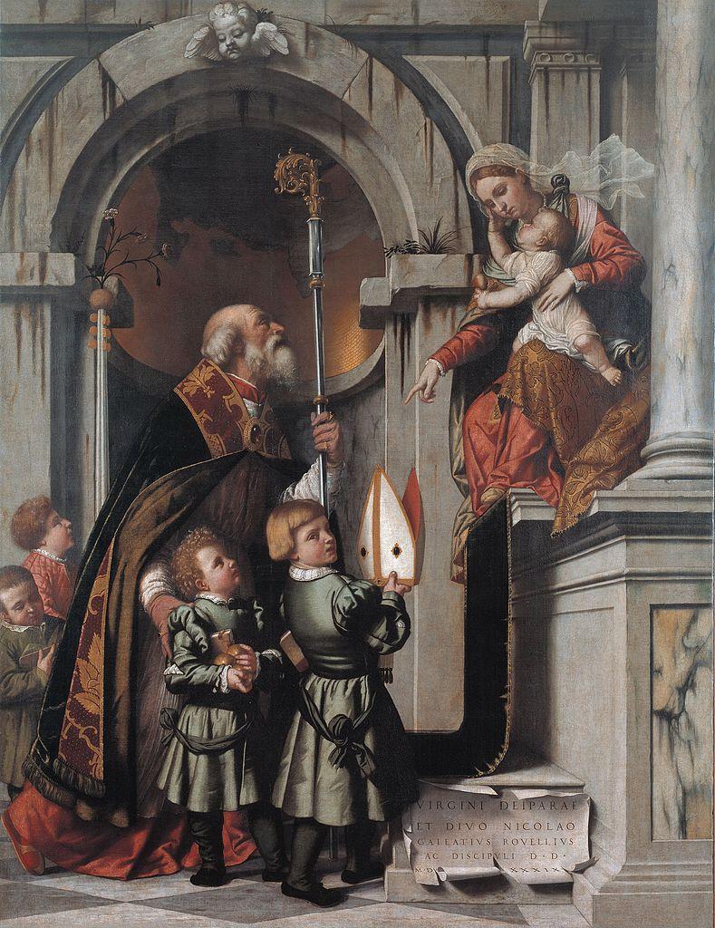 1539 Moretto,_pala_rovelli Pinacoteca Tosio Martinengo di Brescia
