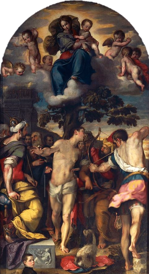 1558 Barocci Martirio_di_san_Sebastiano Cathedrale Urbino