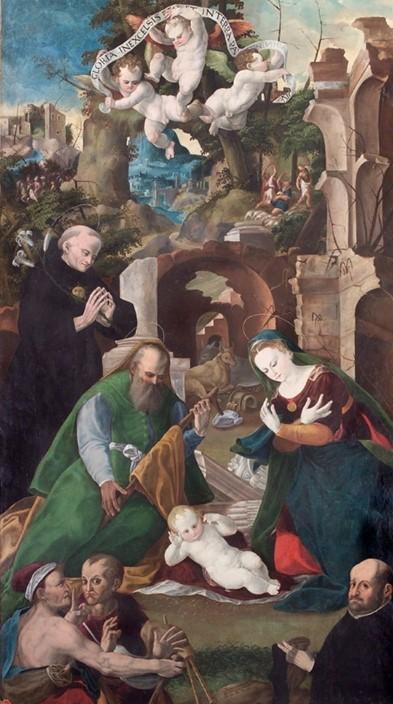 1570 Simone de Magistris Pinacoteca Civica Fabriano