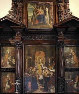 1623 Sebastiano Majewski Cattedrale dei SS. Maria Assunta e Bernardo, Teramo ensemble