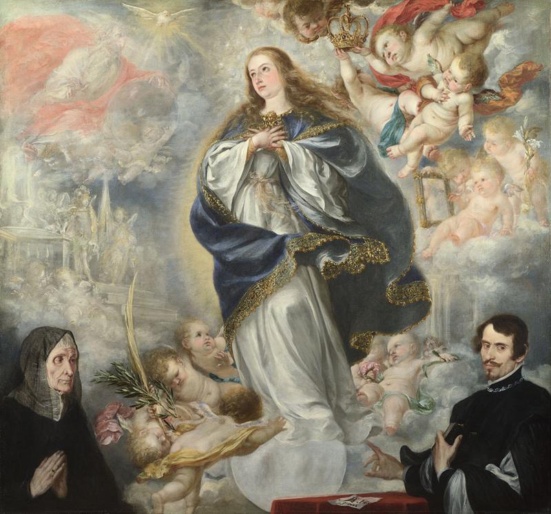 1661 ca Immaculee Conception Juan de Valdes Leal National Gallery Londres
