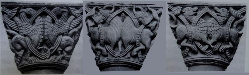 Chapiteau de Heimo, 1150 ca Onze Lieve Vrouw, Masstricht autres faces