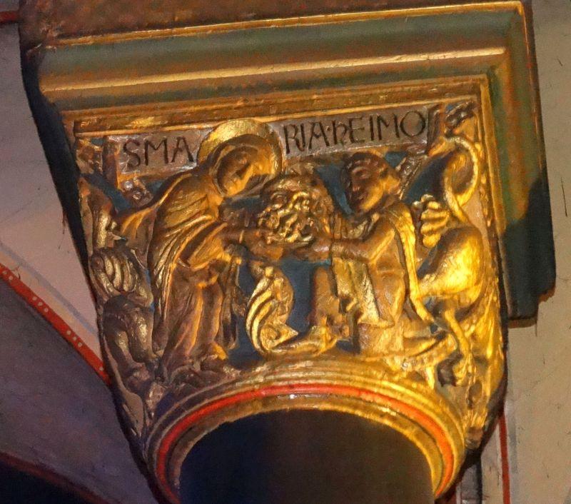 Chapiteau de Heimo 1150 ca, Onze Lieve Vrouw, Masstricht