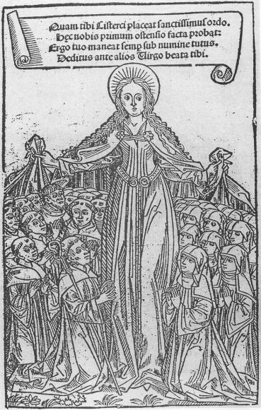 Jean de Cirey, Collecta privilegiorum ordinis cisterciensis, Dijon, imprimeur Petrus Metlinger, 1491. Dijon, Bibliotheque municipale